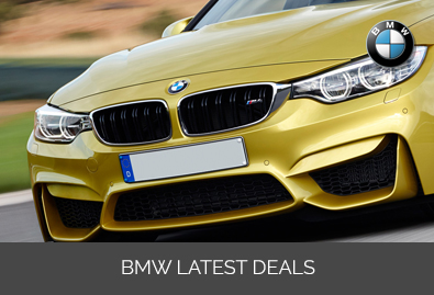 BMW latest deals